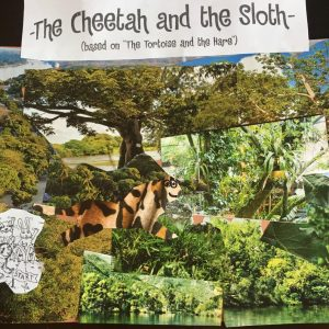 Melissa's Collage for the Cheetah and the Sloth
