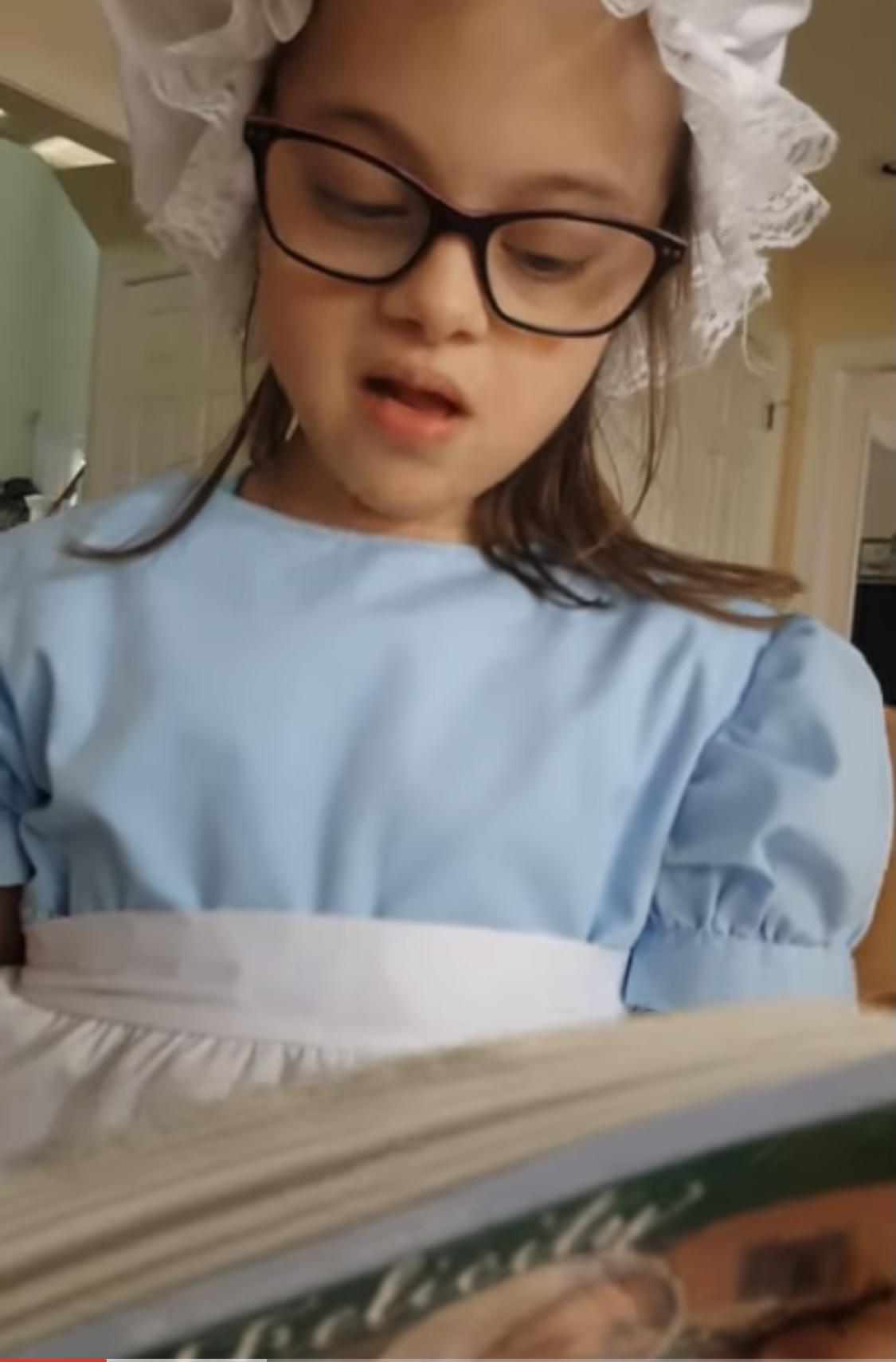 Elsie reads from Felicity https://youtu.be/z8WxRuxGtO4